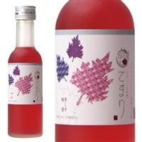 なでしこのお酒「てまり」赤しそ梅酒 180ml【別送品】