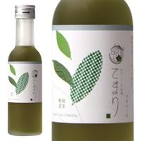 なでしこのお酒「てまり」緑茶梅酒 180ml【別送品】