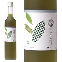 なでしこのお酒「てまり」緑茶梅酒 500ml【別送品】
