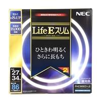 NEC 残光型高周波点灯専用蛍光ランプ LifeEホタルックスリム 3波長形昼光色パック 27形+34形  FHC86ED-LE
