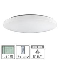 【数量限定】NEC LEDシーリング ~12畳 HLDZD1255