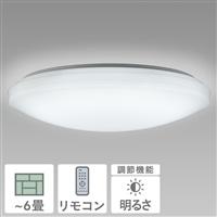 NEC LEDシーリングライト 調光タイプ 6畳用 HLDZ06604
