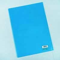 TG カラーバーファイルカバークリスタルブルー