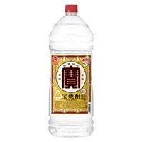 宝焼酎 25度 エコペット 4000ml【別送品】
