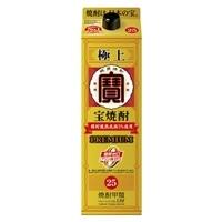 極上宝焼酎 25°紙パック 1800ml【別送品】