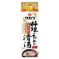 タカラ 料理のための清酒 パック 900ml【別送品】