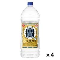 【ケース販売】宝焼酎 20度 エコペット 4000ml×4本【別送品】