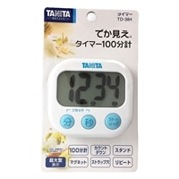タニタ でか見えタイマー TD-384 ホワイト
