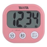 タニタ でか見えタイマー TD-384 ピンク