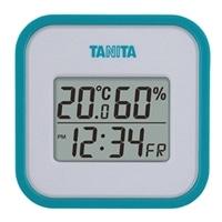 TT558デジタル温湿度計 ブルー
