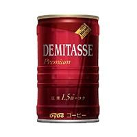 【ケース販売】ダイドーブレンド デミタスコーヒー 缶 150g×30本
