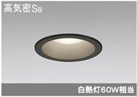 LEDダウンライト100軒下用 黒OD261798