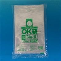 【店舗限定】<ケース販売用単品JAN> OKポリ袋 No.9 150×250mm 100P