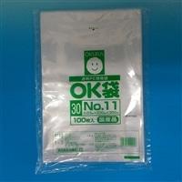 【店舗限定】<ケース販売用単品JAN> OKポリ袋 No.11 200×300mm 100P