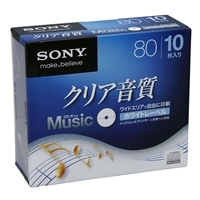 ソニー音楽用CD−R 10CRM80HPWS