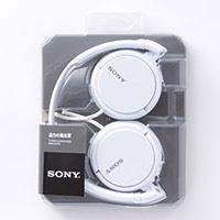 ソニー SONY ヘッドフォン MDR-ZX110W