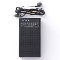 ソニーFM&AMラジオ ICF—P26 縦型