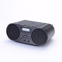 ソニーCDラジオ ZS—S40 ブラック