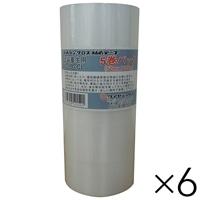 【ケース販売】パイオランクロス 塗装養生テープ 透明 50mm×25m 5巻パック×6 大箱売り[4967529521521×6]