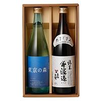 【ネット限定】くらから便 石川酒造 純米無濾過・東京の森 2本セット