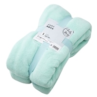 ふんわり軽量毛布 グリーン140×190