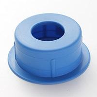 紙管キャップ 75mm ブルー HRー1230