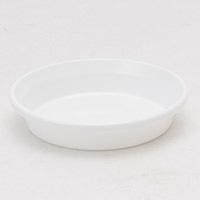 鉢皿F型5号ホワイト
