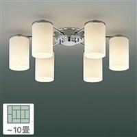 KOIZUMI コイズミ照明 LED電球 非調光 電球色 60形×6灯 10畳用 AA39673L