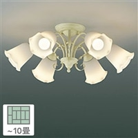 KOIZUMI コイズミ照明 LED電球 非調光 電球色 60形×6灯 10畳用 AA39684L
