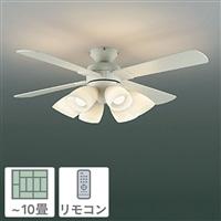 KOIZUMI コイズミ照明 LED電球 非調光 電球色 60形×6灯 10畳用 AM41906L