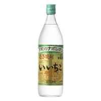 いいちこ 麦 25度 瓶 900ml【別送品】