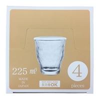 タンブラーセット ザ グラス タンブラー 225ml 4個組