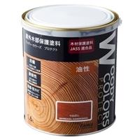 屋外木部保護塗料 ウッディーカラーズ プロテクト 1.6L マホガニ