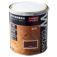屋外木部保護塗料 ウッディーカラーズ プロテクト 1.6L カスタニ
