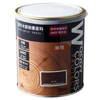 屋外木部保護塗料 ウッディーカラーズ プロテクト 1.6L チーク