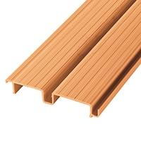 【SU】デッキ材 連結 180幅×12尺 木目調