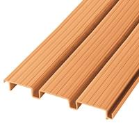 【SU】デッキ材 連結 300幅×12尺 木目調