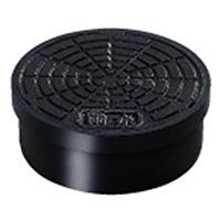 タキロン 塩ビ小口径ます鋳鉄蓋 I-AIF150 黒