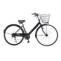 【自転車】【全国配送】シティ車 ダカラット 27型  外装6段  ネイビー/シルバー【別送品】
