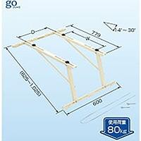 傾斜屋根直角置用キャッチャー C−LG