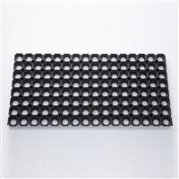 【数量限定】連結できる有孔ゴムマット 33×66cm 22mm