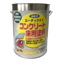ユータックAY コンクリート床用塗料 グレー 4kg【別送品】