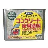ユータックAY コンクリート床用塗料 グリーン 7kg【別送品】