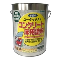 ユータックAY コンクリート床用塗料 グリーン 4kg【別送品】