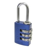 ABUS可変式南京錠 ブルー 145-20