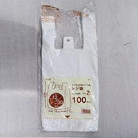 【数量限定】レジ袋乳白色 No.12 100枚入