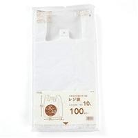 【数量限定】レジ袋乳白色 No.30 100枚入