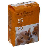 Pet'sOne ペットの紙おむつ SSサイズ 20枚入り