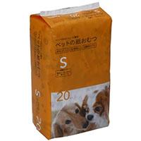 Pet'sOne ペットの紙おむつ Sサイズ 20枚入り