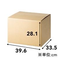 120サイズ 段ボール箱 NO.6 (396×335×281mm)